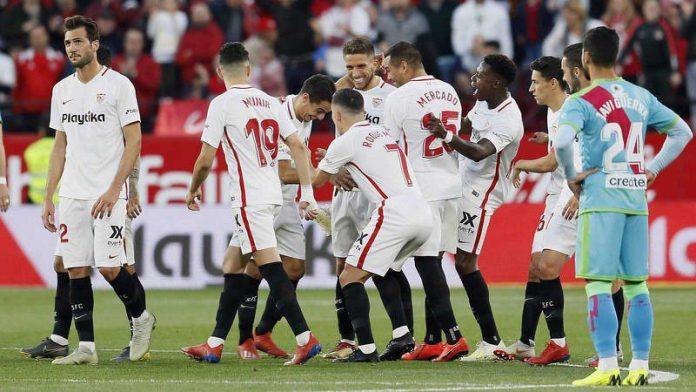 El Sevilla FC, aplastante frente al Rayo Vallecano en Nervión
