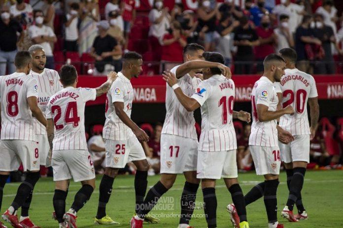 Los dorsales oficiales del Sevilla FC 2021/2022