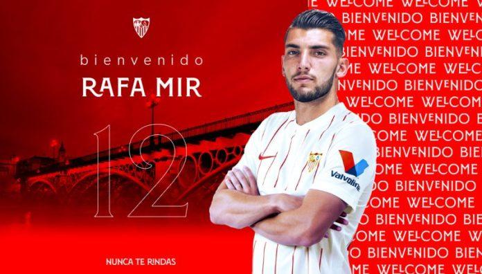 [OFICIAL] Rafa Mir, nuevo jugador del Sevilla FC