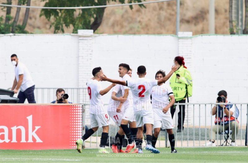 Carlos Álvarez Sevilla FC Partido youth league Sevilla FC Sevilla Fútbol Club