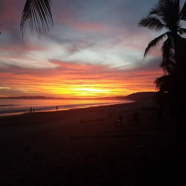 A San Pancho Sunset captured by John Curley