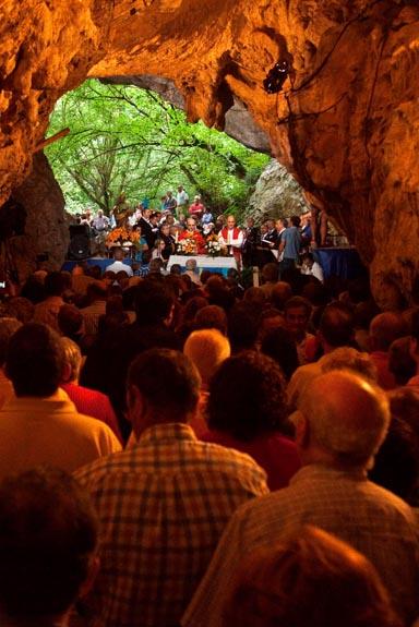 Fiestas de San Pedrín de la Cueva