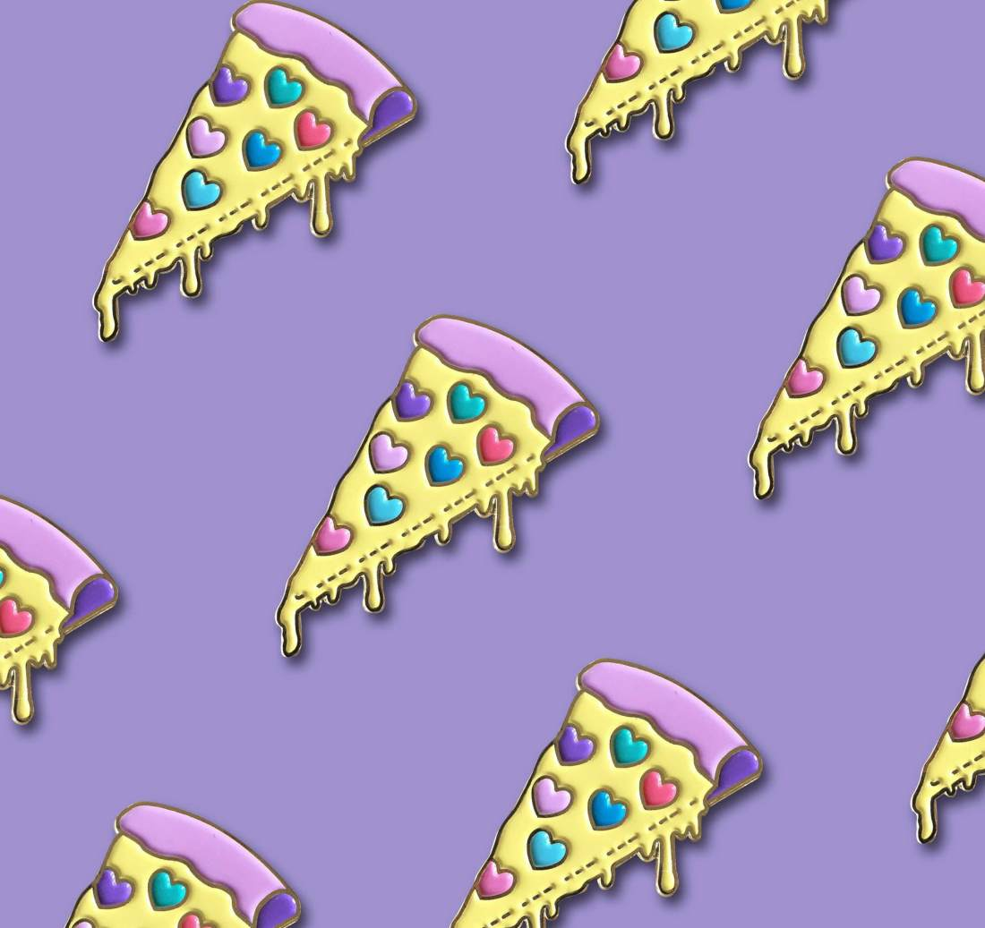 Pizza Lover Pins by La Come Di