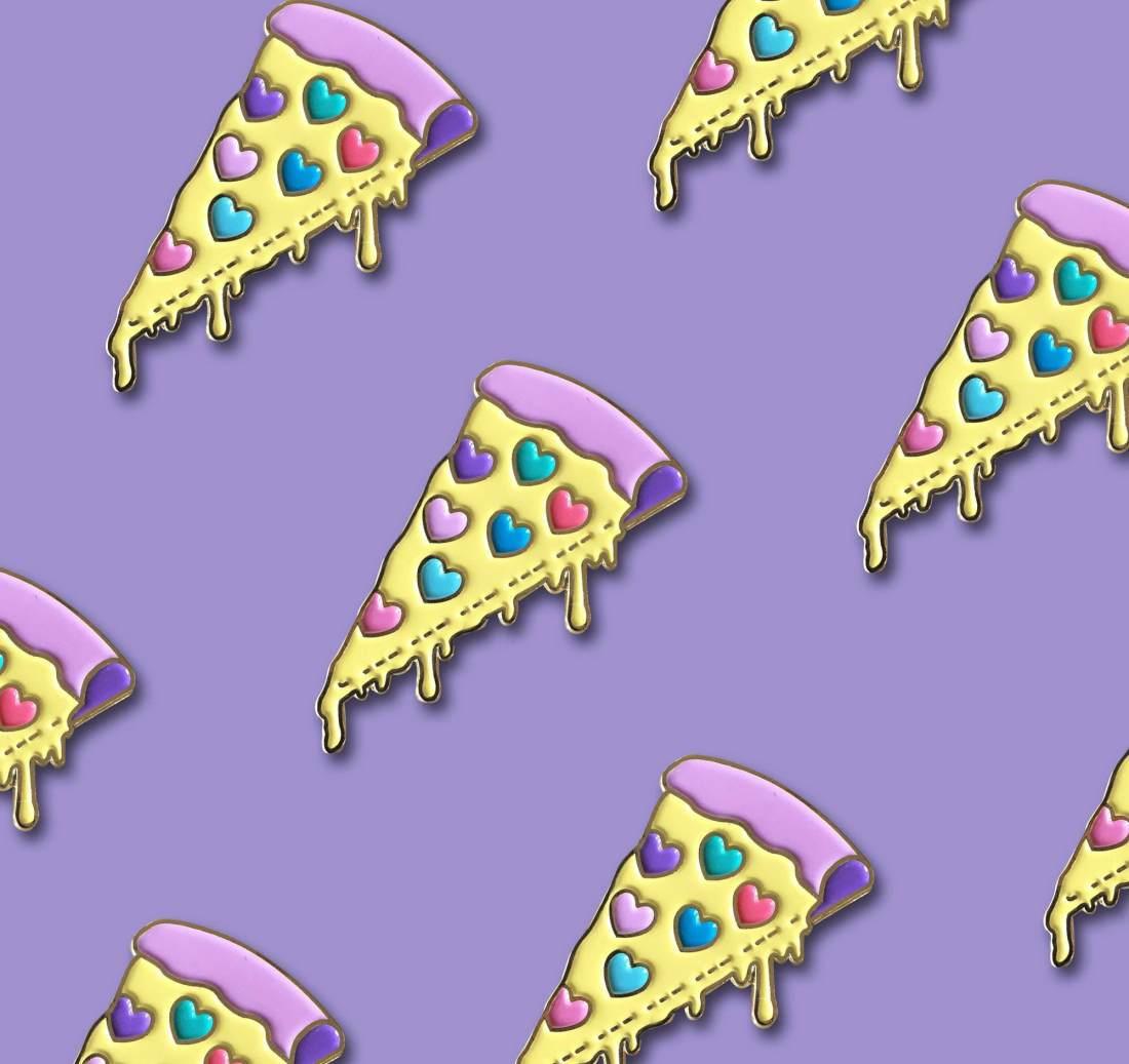Pizza Lover Pins by La Come Di