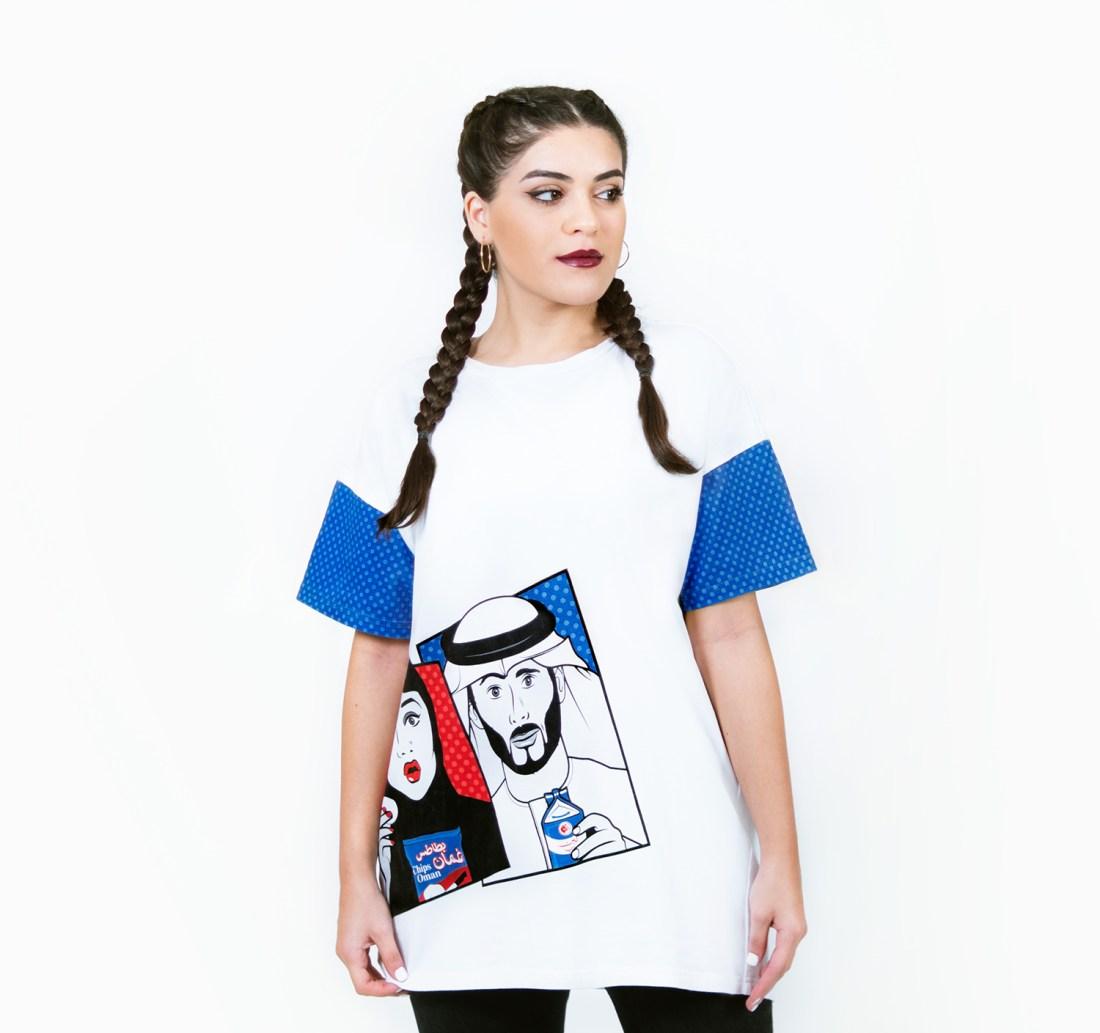 Perfect Match Oversized T-shirt by La Come Di