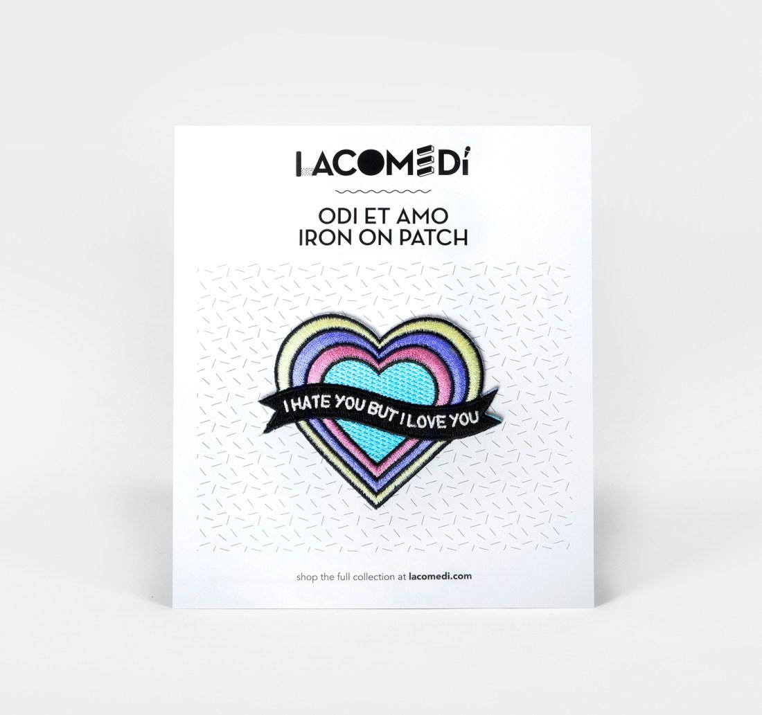 Odi Et Amo Patch by La Come Di