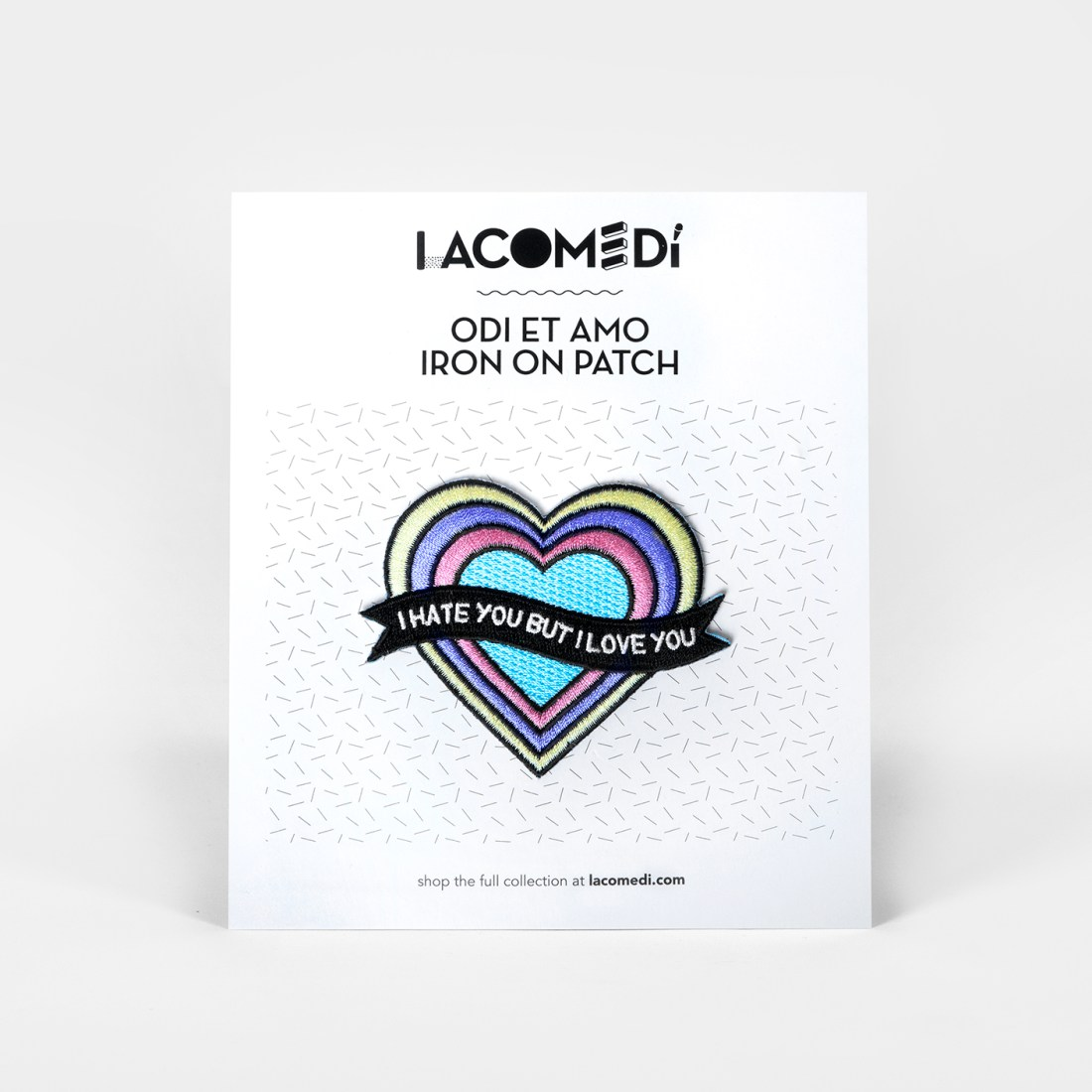 Odi Et Amo Patch by La Come Di