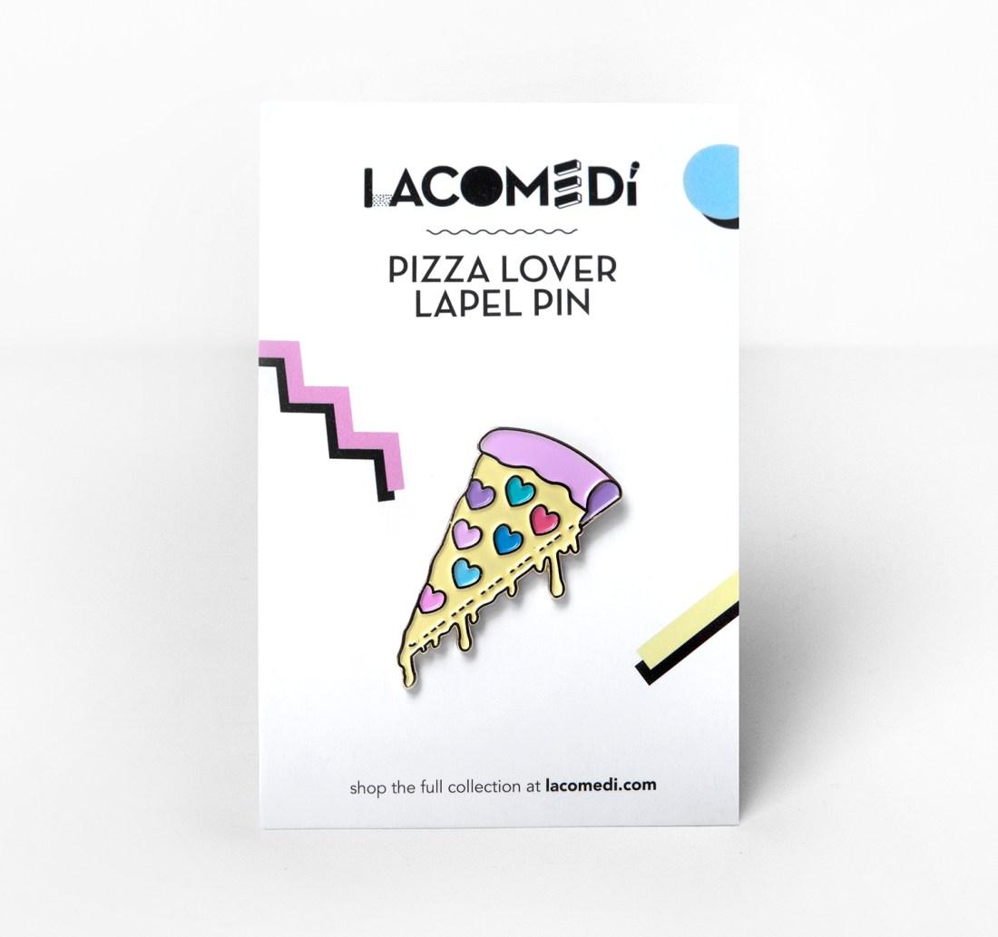 Pizza Lover Pin by La come Di
