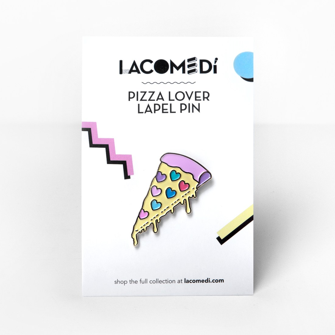 Pizza Lover Pin by La come Di