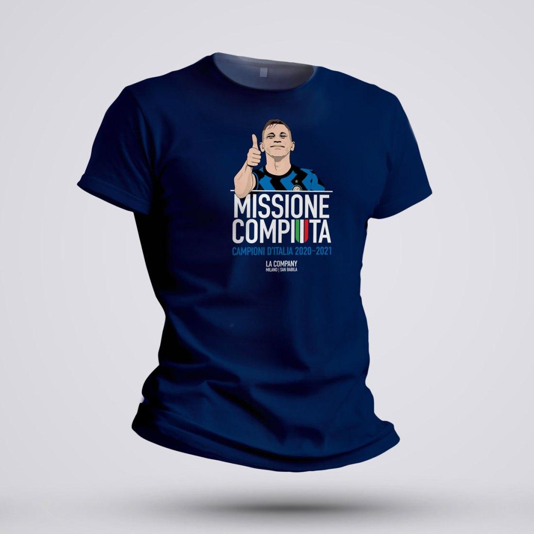 maglietta scudetto inter