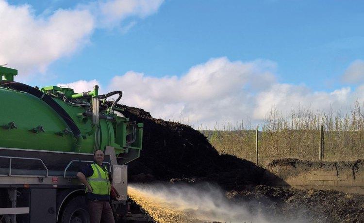 Vidanges et boues, la Compostière de l'Aube
