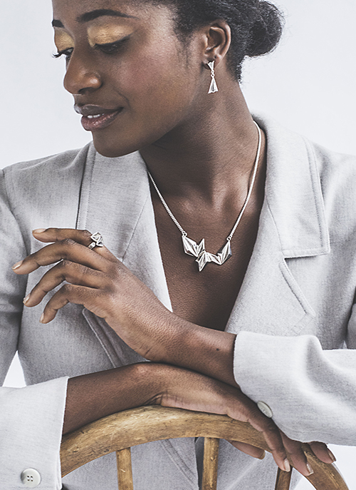 eco silver ethical jewellery by laconic