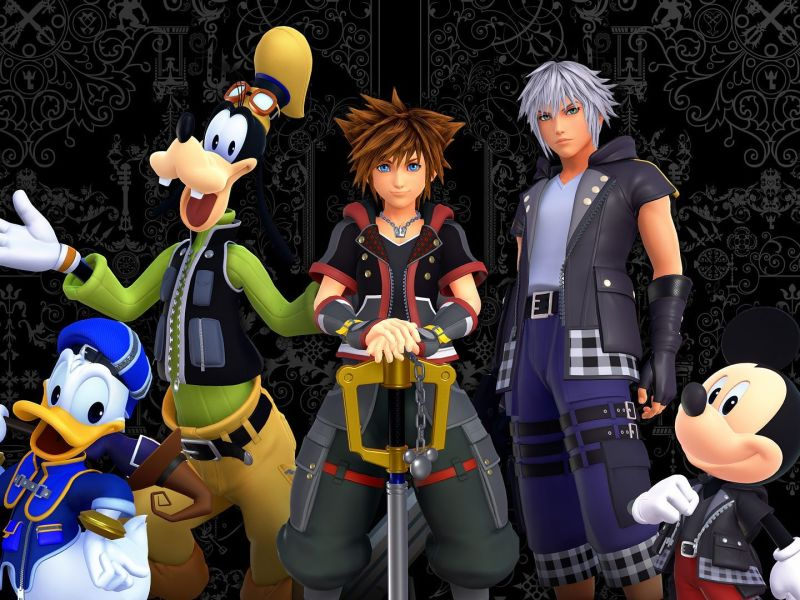 Kingdom Hearts tendrá su serie animada en Disney+