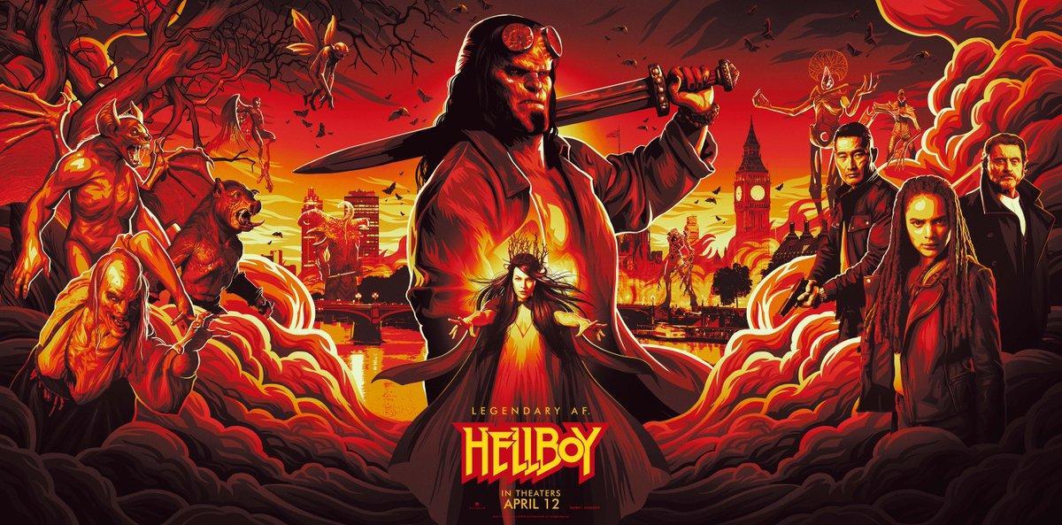 Hellboy estrena su primer trailer