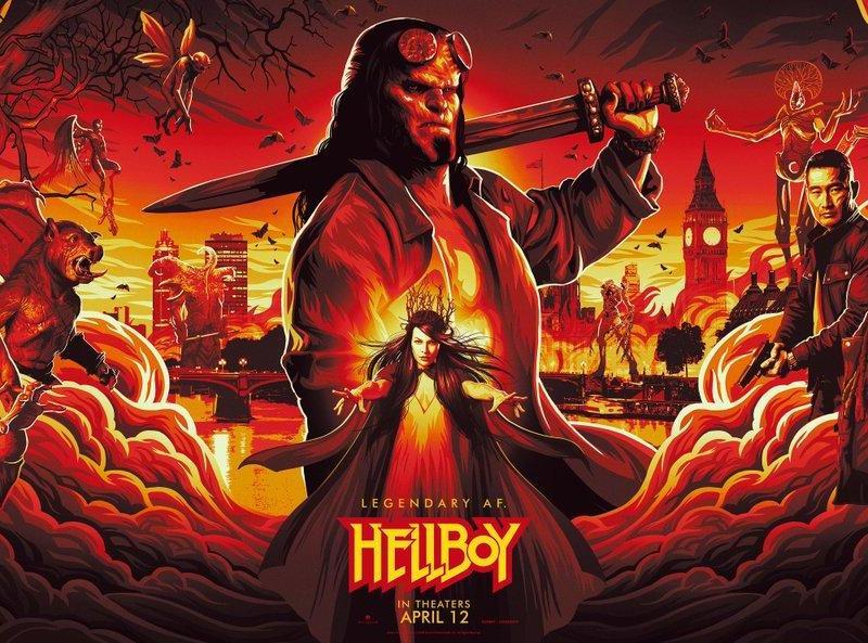 Hellboy: Los cómics cobran vida en un nuevo adelanto