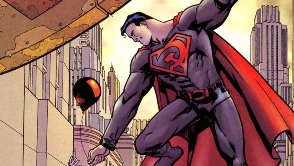 DC planea la adaptación animada de Superman: Red Son