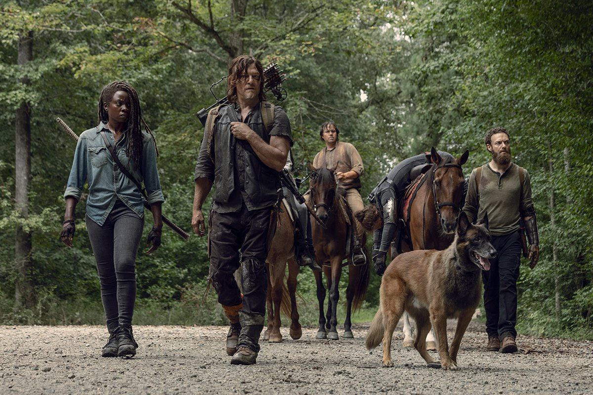 The Walking Dead renovada para la temporada 11