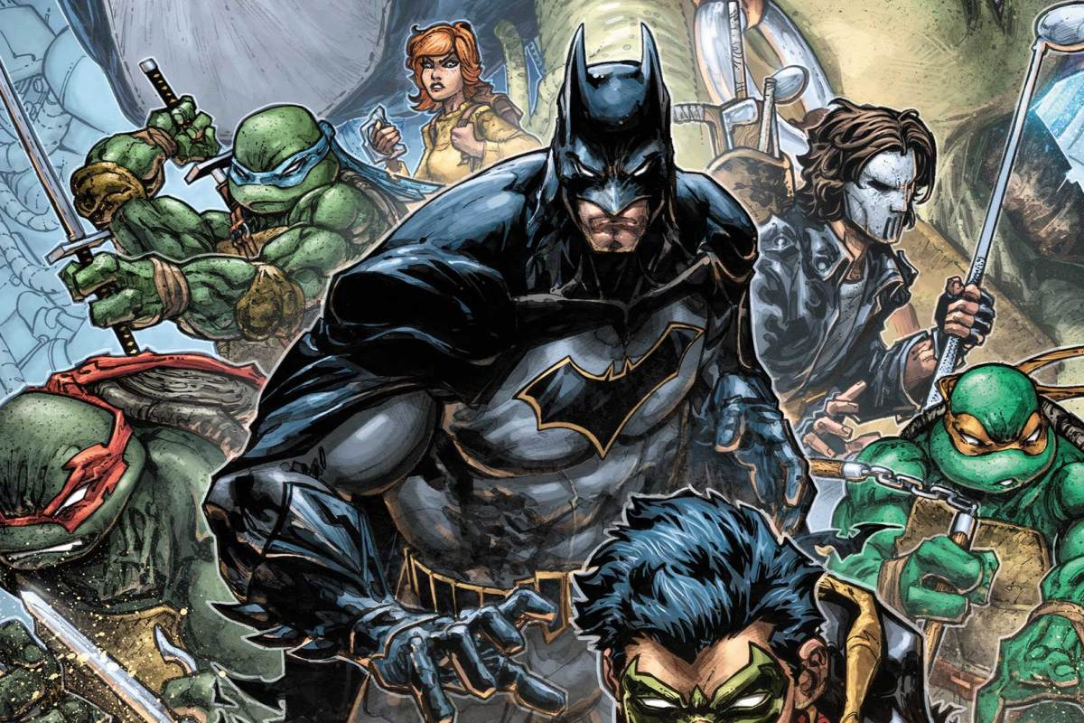Batman vs TMNT estrena su genial trailer