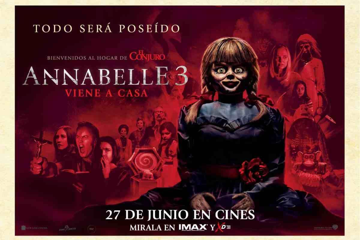 Ganadores Avant Premiere: Annabelle 3: Viene a Casa