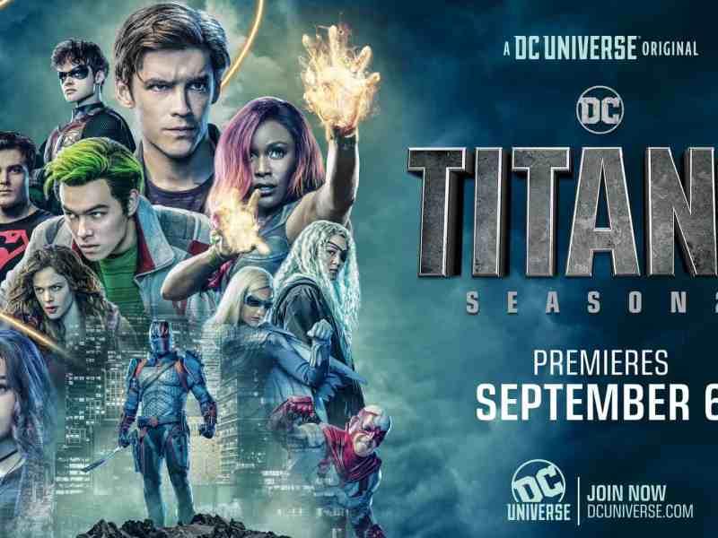 Titans revela el primer vistazo a Nightwing