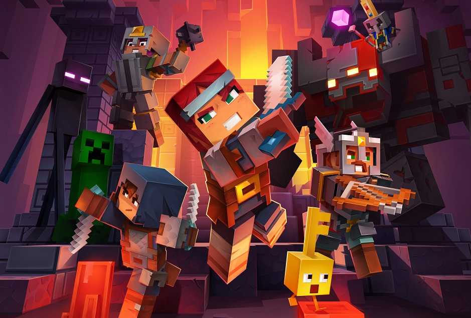 Minecraft Dungeons captura la esencia de la franquicia en un nuevo género