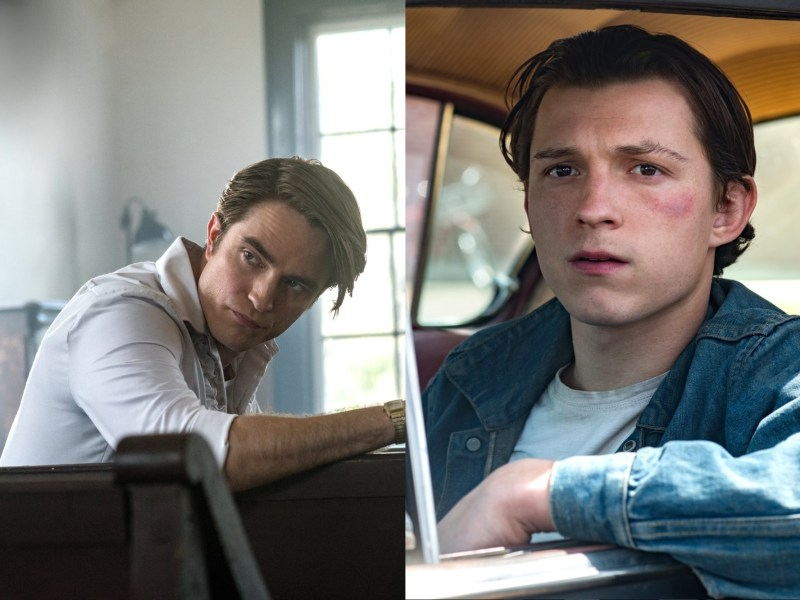 Tom Holland y Robert Pattinson protagonizan las primeras imágenes de The Devil All the Time