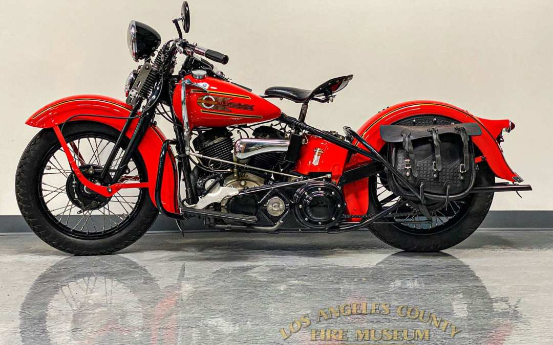 Our 1937 Harley
