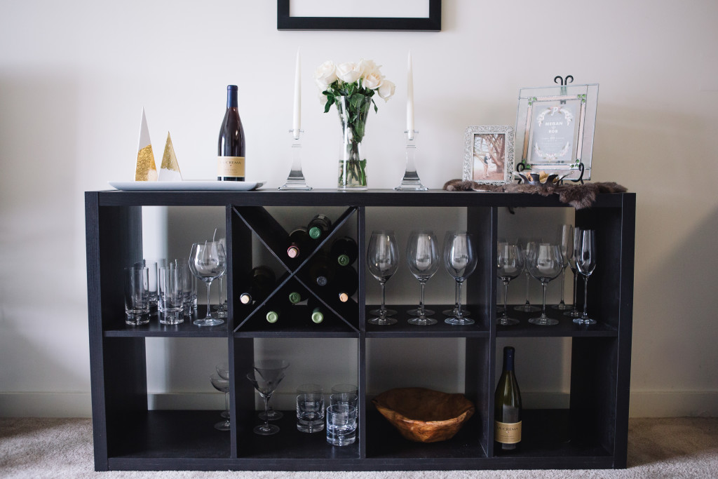 DIY Wine Rack An XShelf IKEA Hack