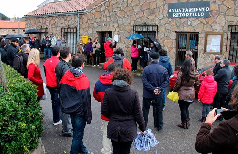 Vecinos de de Retortillo contra la mina de uranio de Berkeley