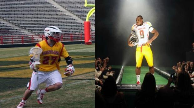 Under Lacrosse Maryland Uniforms Armour