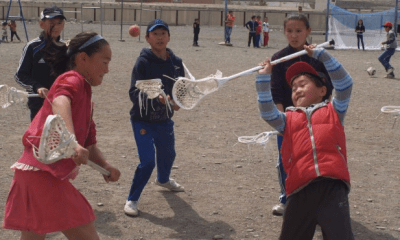 A First-Hand Account of the First Mongolian Lacrosse Program