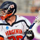 May 30, 2011; Baltimore, MD, USA; Virginia Cavaliers midfielder Nick O'Reilly (29) against the Maryland Terrapins during the second half of the NCAA Division I Men's lacrosse national championship game at M&T Bank Stadium. Mandatory Credit: Rafael Suanes-USA TODAY Sports