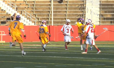 Miles Thompson With the Sick No-Look Goal
