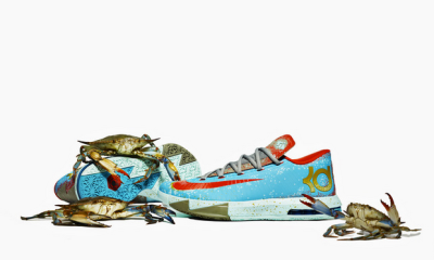 Kevin Durant's Maryland Blue Crab Inspired Shoe (Video)