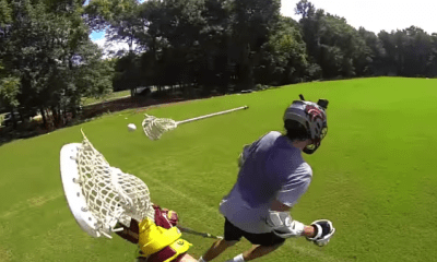 GoPro Uploads Awesome Lacrosse Clip