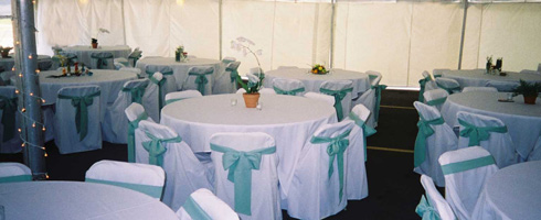 folding chair covers for wedding recliner chairs elderly uk la crosse tent and awning rentals cover