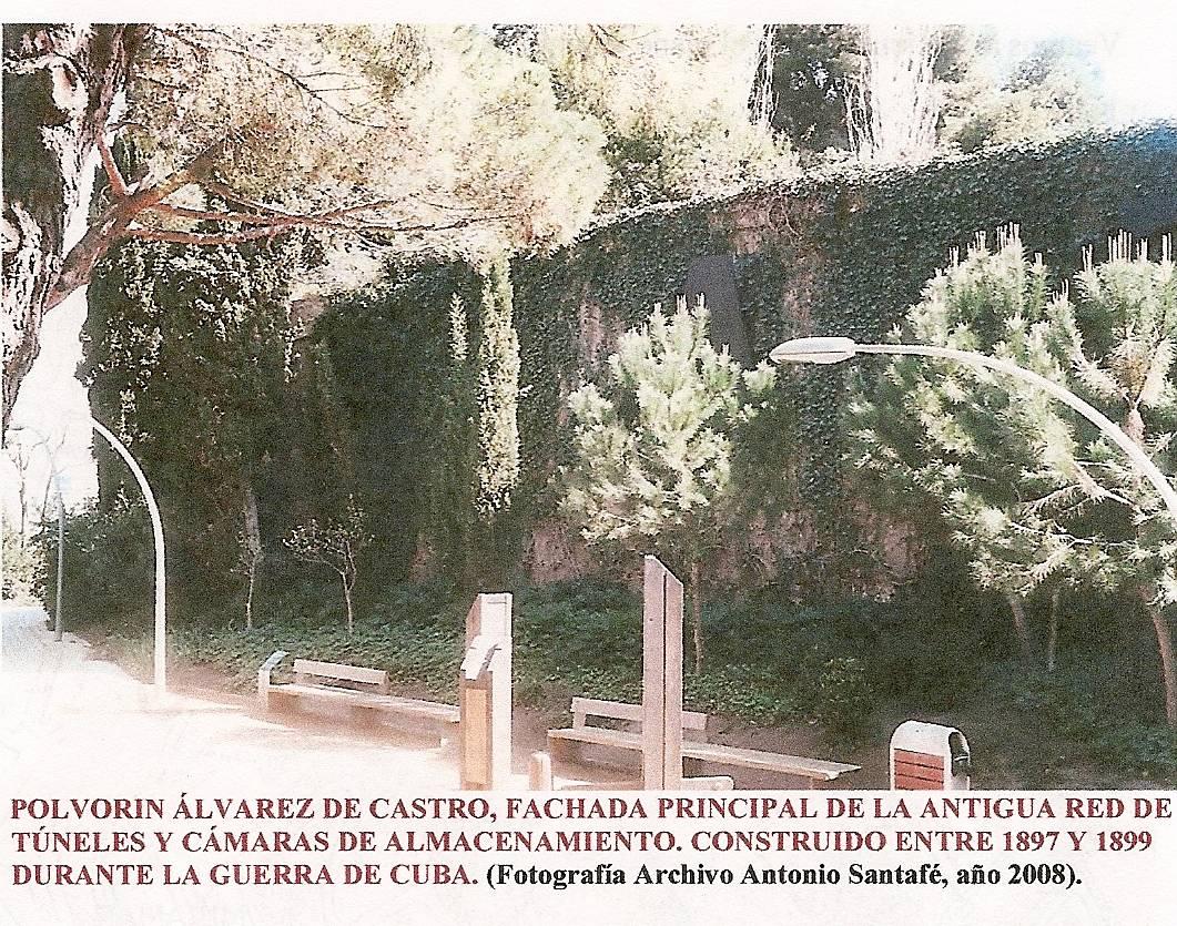 fachada principal polvorin alvarez de castro lacruelguerra.com