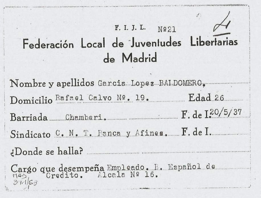 federacion local de juventudes libertarias de madrid