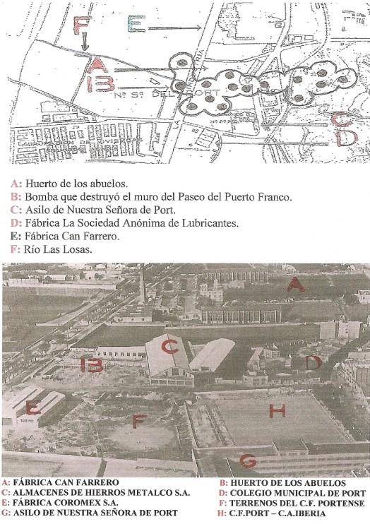mapa comparativo port barcelona