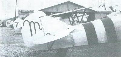 aviones con m de mussoliniana