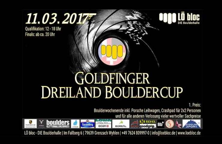 Boulderwettkampf Goldfinger im LÖ bloc