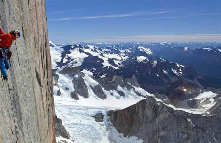 David Lama at Cerro Torre in Patagonia