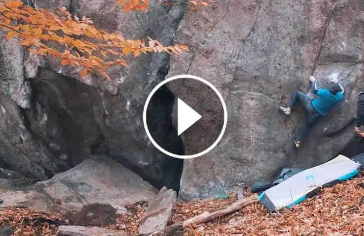 Bouldergeschichte im Norden Montreals