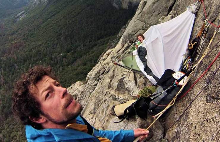Silvan Schüpbach and Dimitri Vogt in the Muir Wall - Yosemite