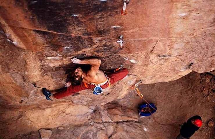 Pirmin Bertle klettert Ruta de Cobre in Socaire Chile