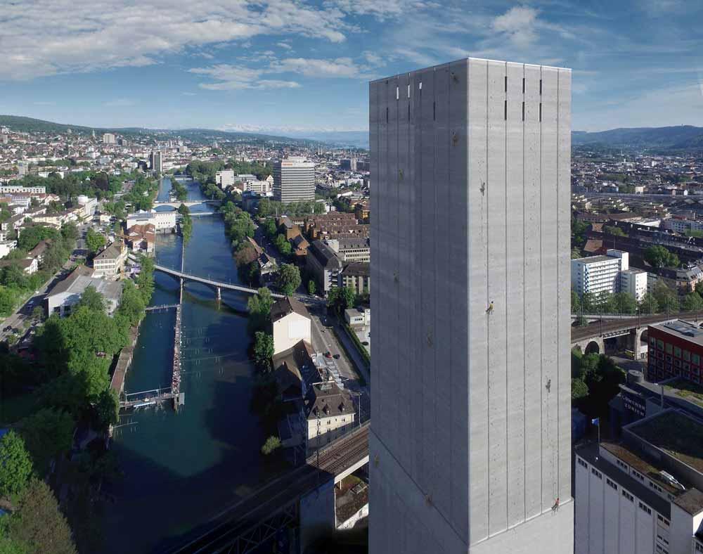 Kletterausrüstung Zürich : Zürich will die längste städtische kletterroute der welt lacrux