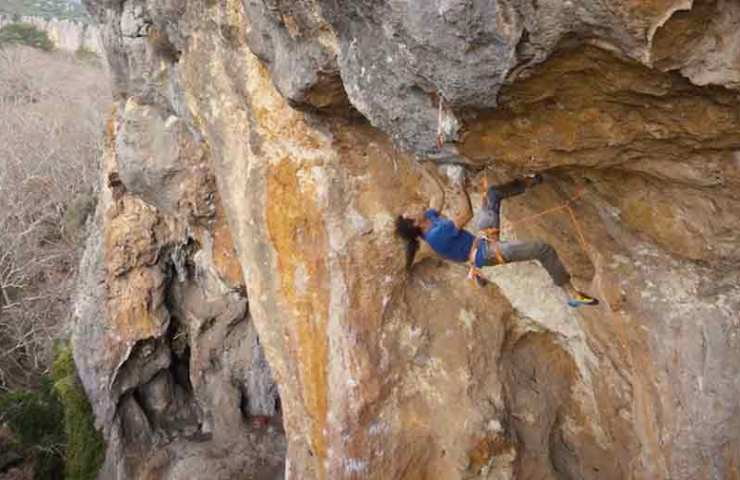 Rock Erotics: Perhaps the first 9a in Turkey