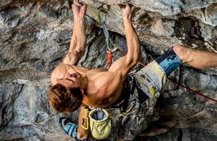 Diese Muskeln beanspruchst du beim Klettern