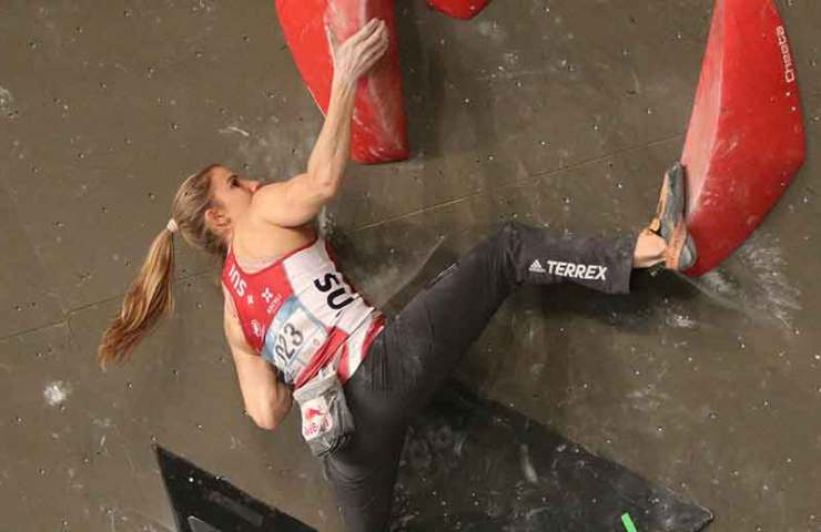 Petra Klingler on the first World Cup and outdoor climbing