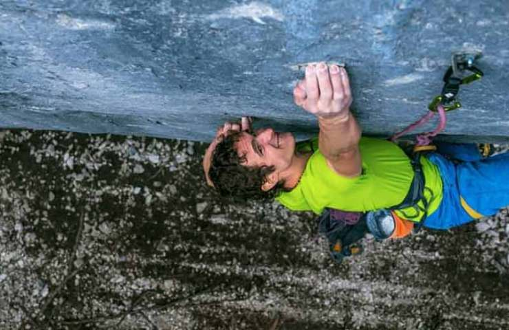 9b first ascent by Adam Ondra in Acephale: Disbelief